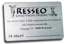 RESSEO Card
